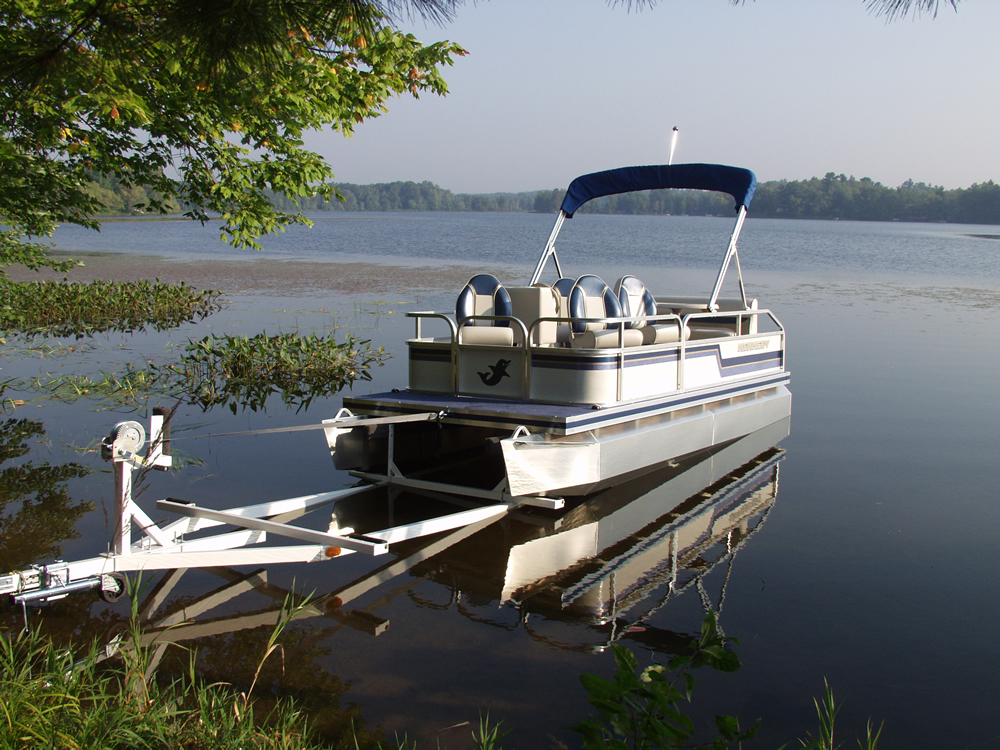 Custom Roller Trailers For Pontoons