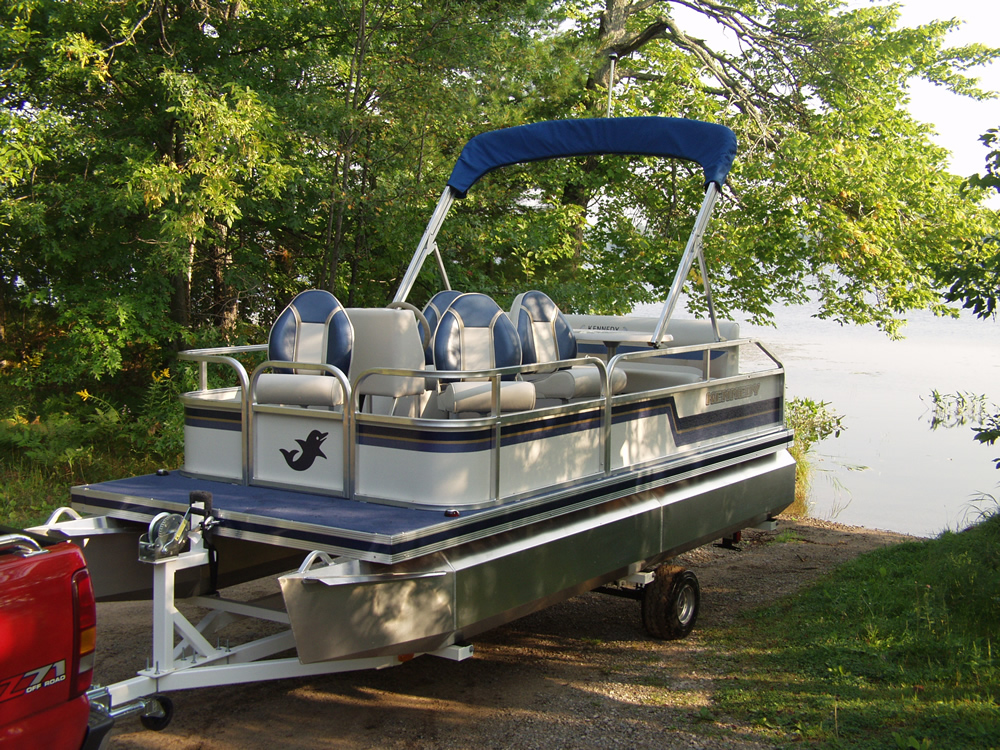 Custom Roller Pontoon Trailers
